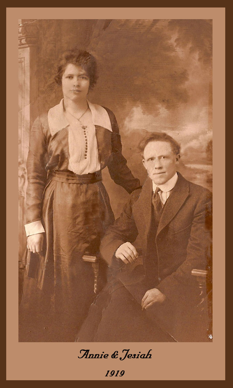 17-02, 1919-11-26 Annie & Jesiah wedding