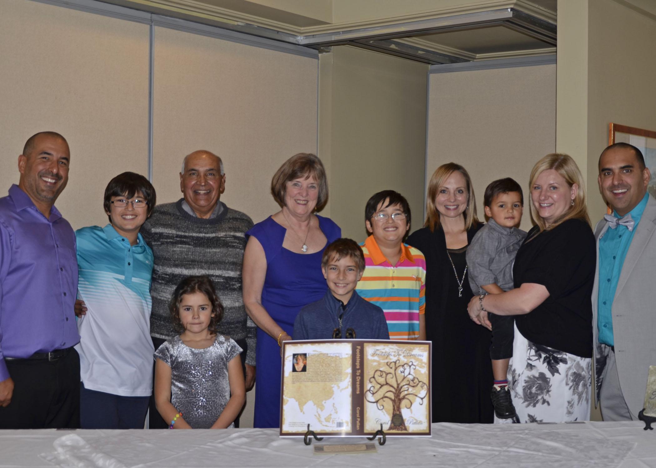 2015-11-15 Book Launch - entire Pallan Family crop